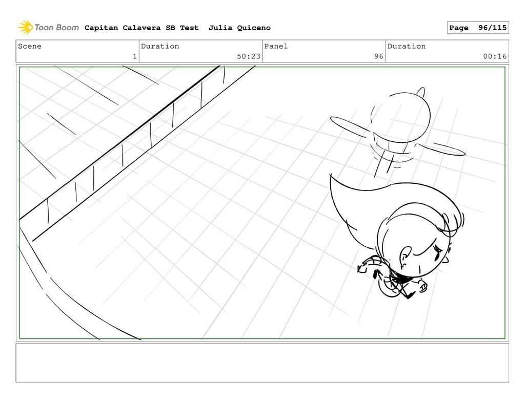 Scene 1 Duration 50:23 Panel 96 Duration 00:16 ...