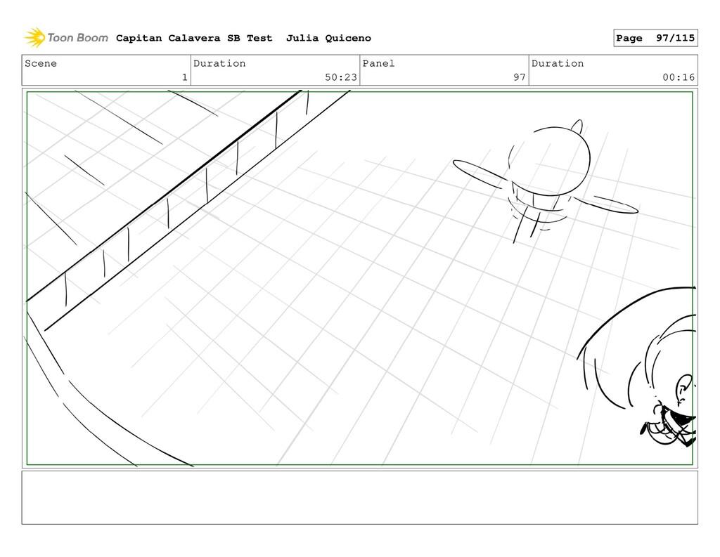 Scene 1 Duration 50:23 Panel 97 Duration 00:16 ...