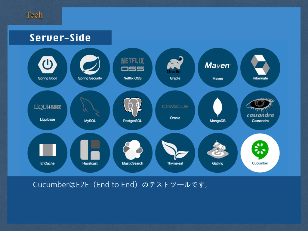Server-Side Tech CucumberはE2E(End to End)のテストツー...