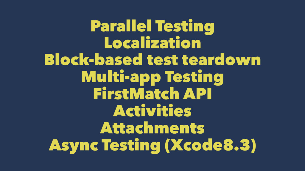 Parallel Testing Localization Block-based test ...