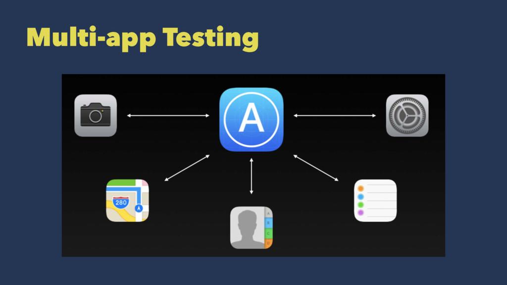 Multi-app Testing