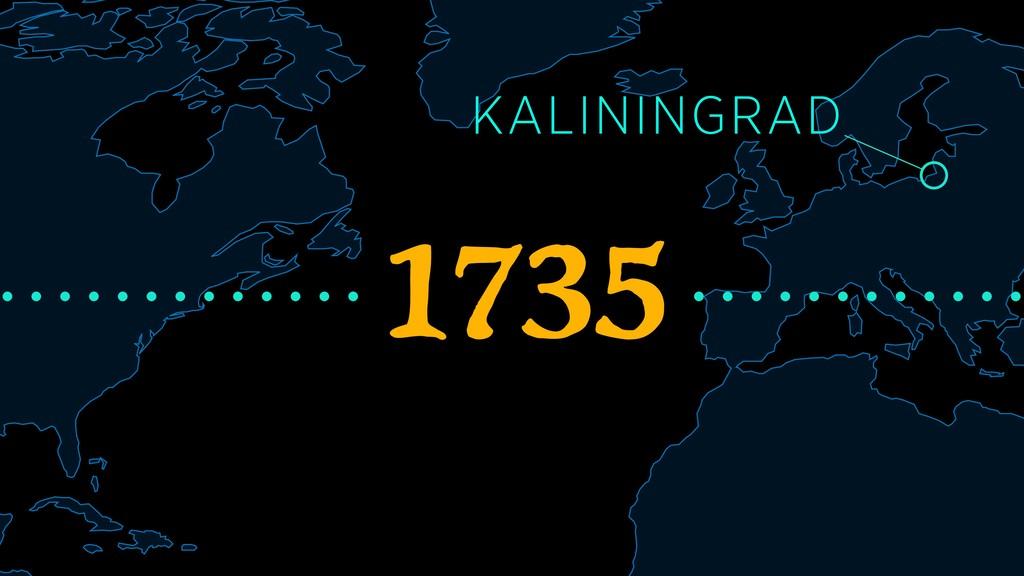 1735 KALININGRAD