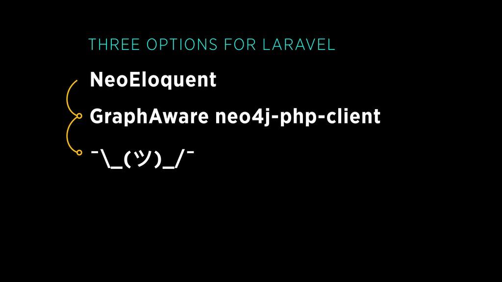 NeoEloquent THREE OPTIONS FOR LARAVEL GraphAwar...