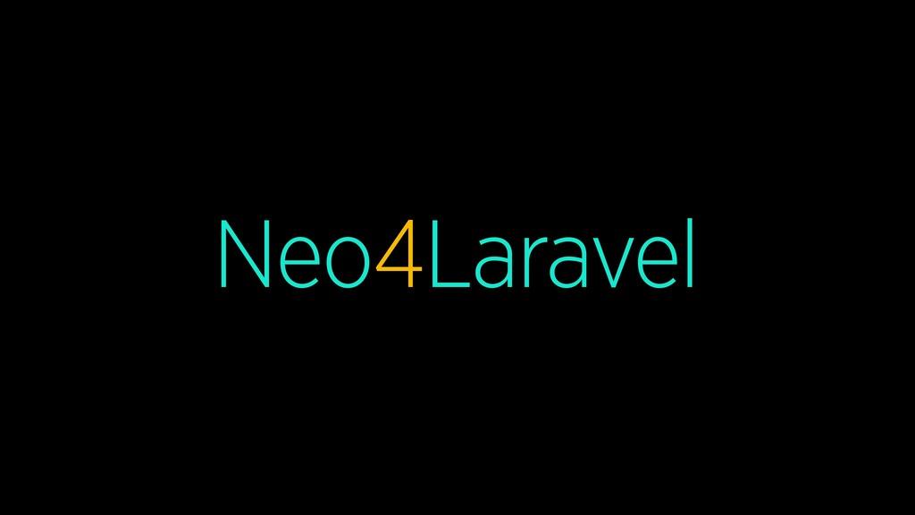 Neo4Laravel
