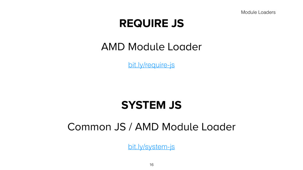Common JS / AMD Module Loader REQUIRE JS AMD Mo...