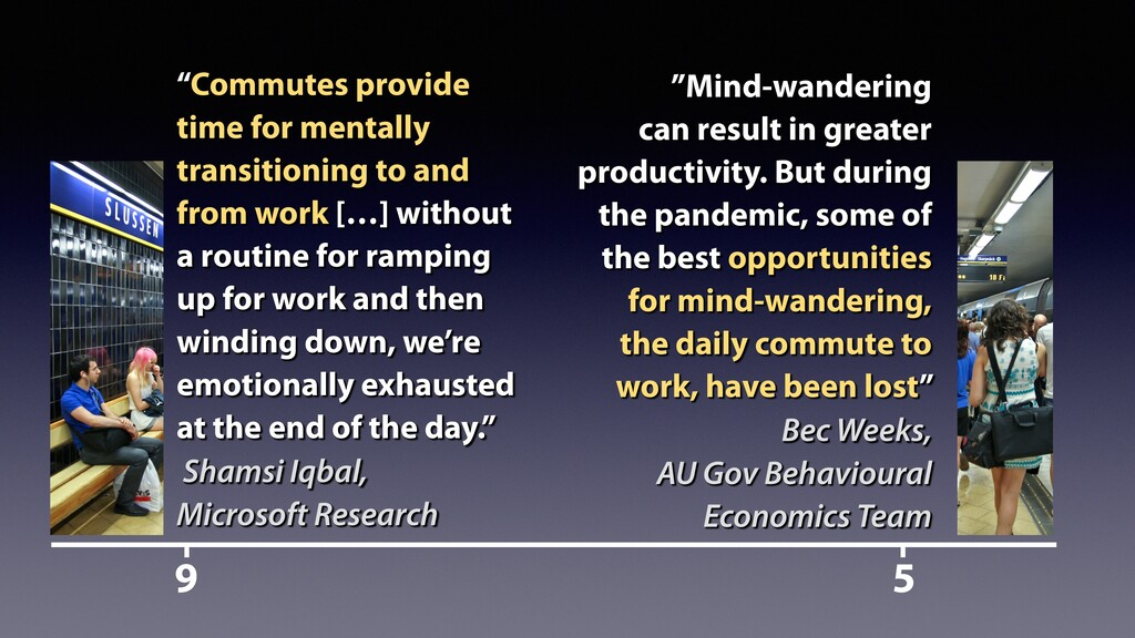 """9 5 """"Mind-wandering can result in greater produ..."""