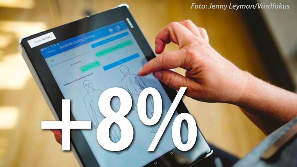 Foto: Jenny Leyman/Vårdfokus +8%