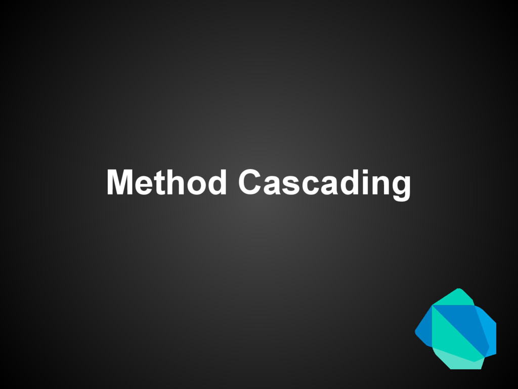 Method Cascading