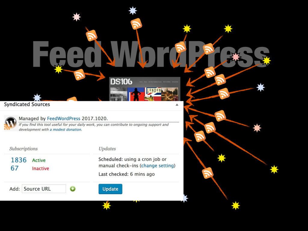 Feed WordPress !