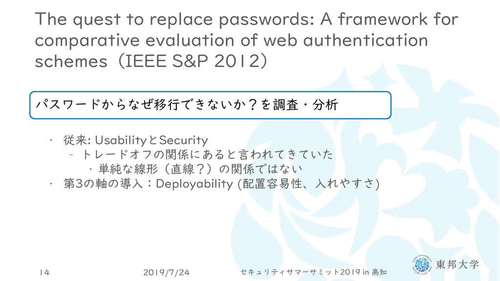 The quest to replace passwords: A framework for...
