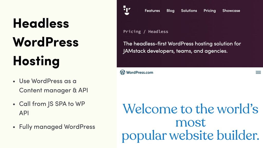 Headless WordPress Hosting • Use WordPress as a...