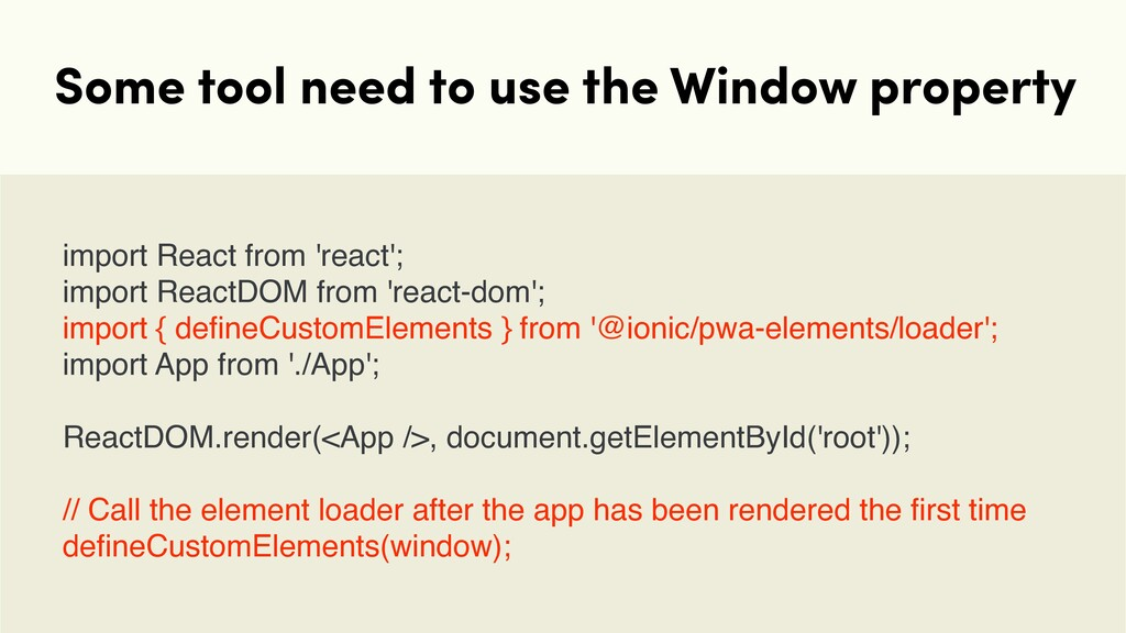 Some tool need to use the Window property impor...