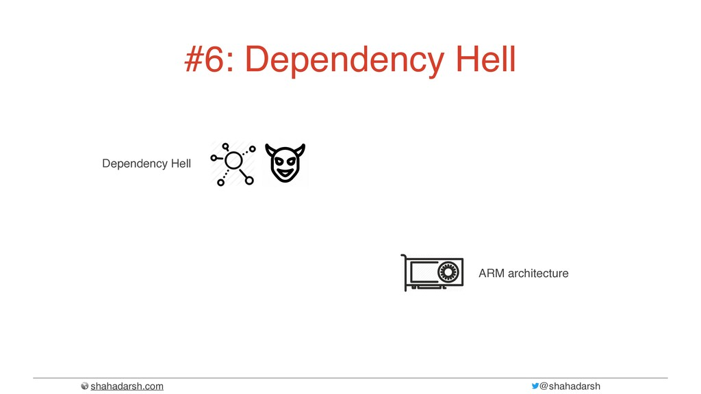shahadarsh.com @shahadarsh #6: Dependency Hell ...