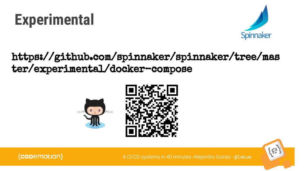 @lekum Experimental https://github.com/spinnake...