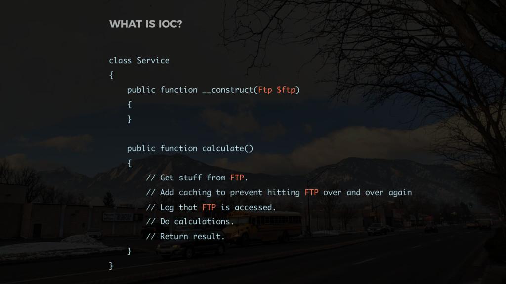 class Service { public function __construct(Ftp...