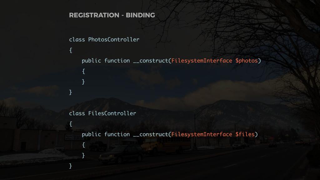 class PhotosController { public function __cons...