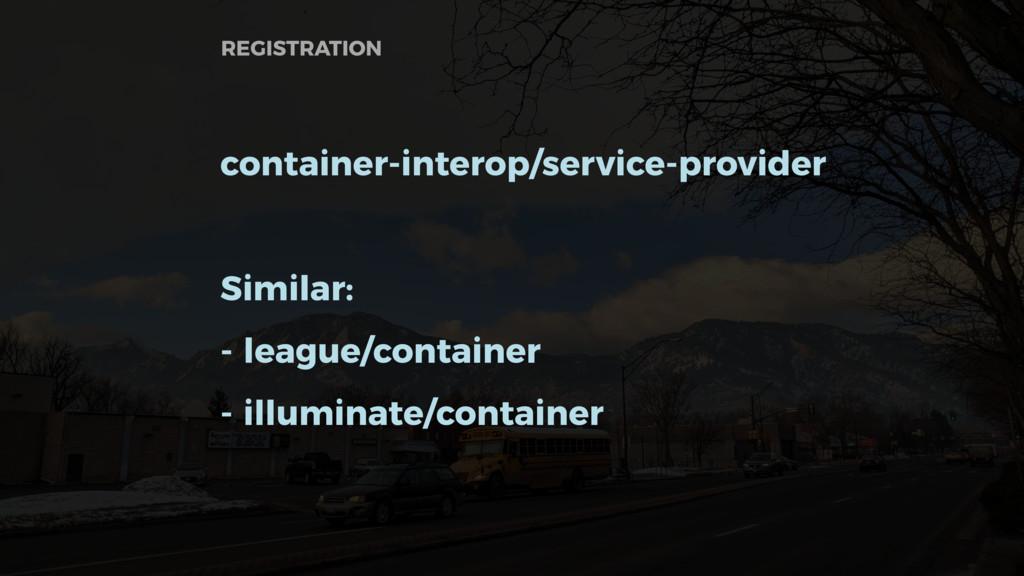 container-interop/service-provider Similar: - l...