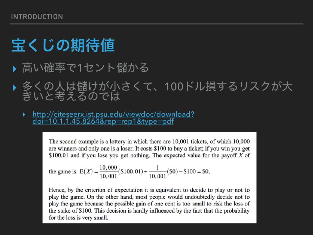 INTRODUCTION ๅ͘͡ͷظ ▸ ߴ͍֬Ͱ1ηϯτṶ͔Δ ▸ ଟ͘ͷਓṶ͚͕খ...