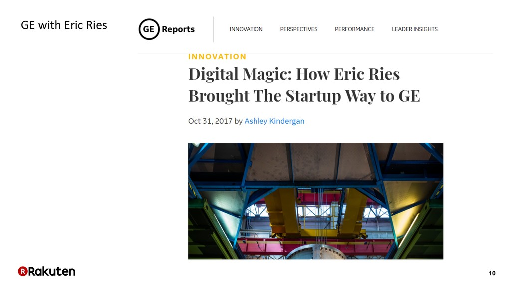10 GE with Eric Ries