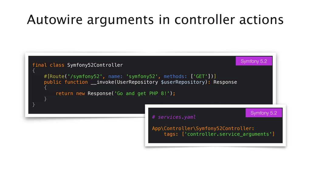Autowire arguments in controller actions final ...