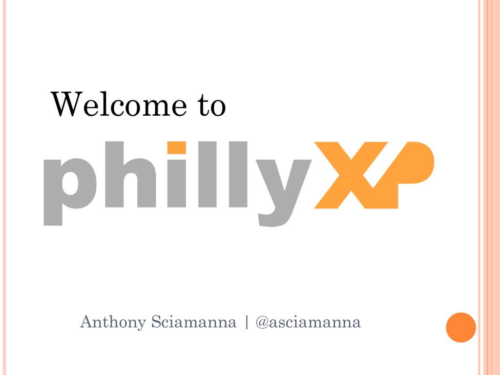 Welcome to Anthony Sciamanna | @asciamanna