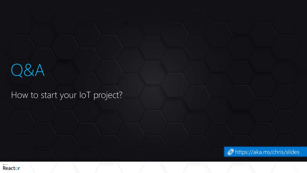 Q&A How to start your IoT project? https://aka....