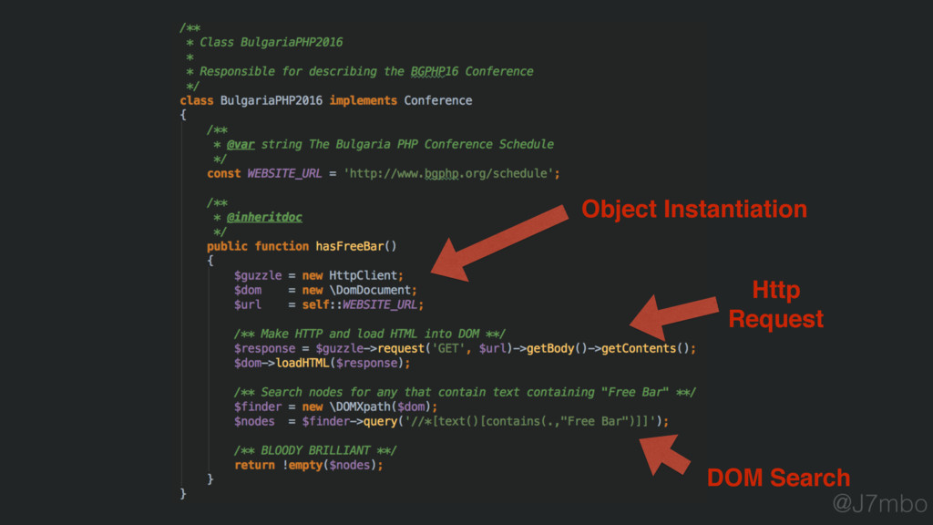 Object Instantiation Http Request DOM Search @J...