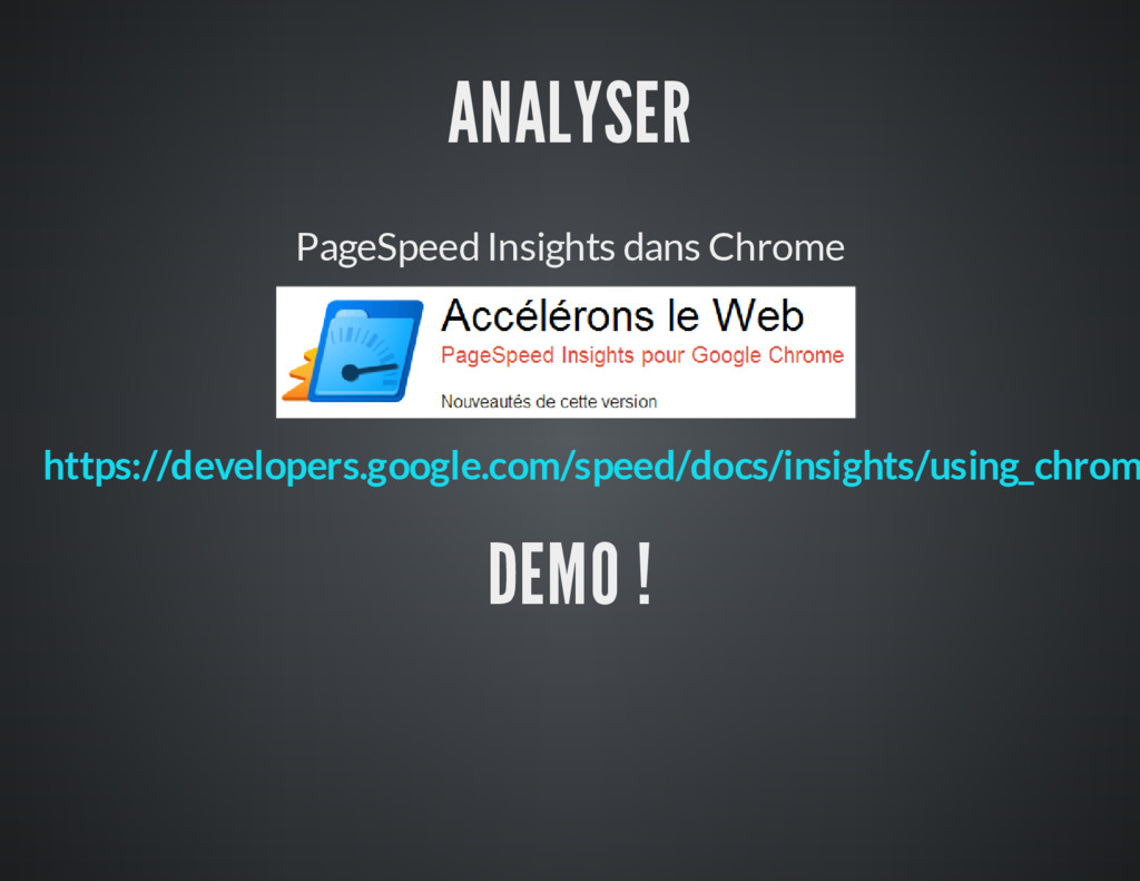 ANALYSER PageSpeed Insights dans Chrome DEMO ! ...