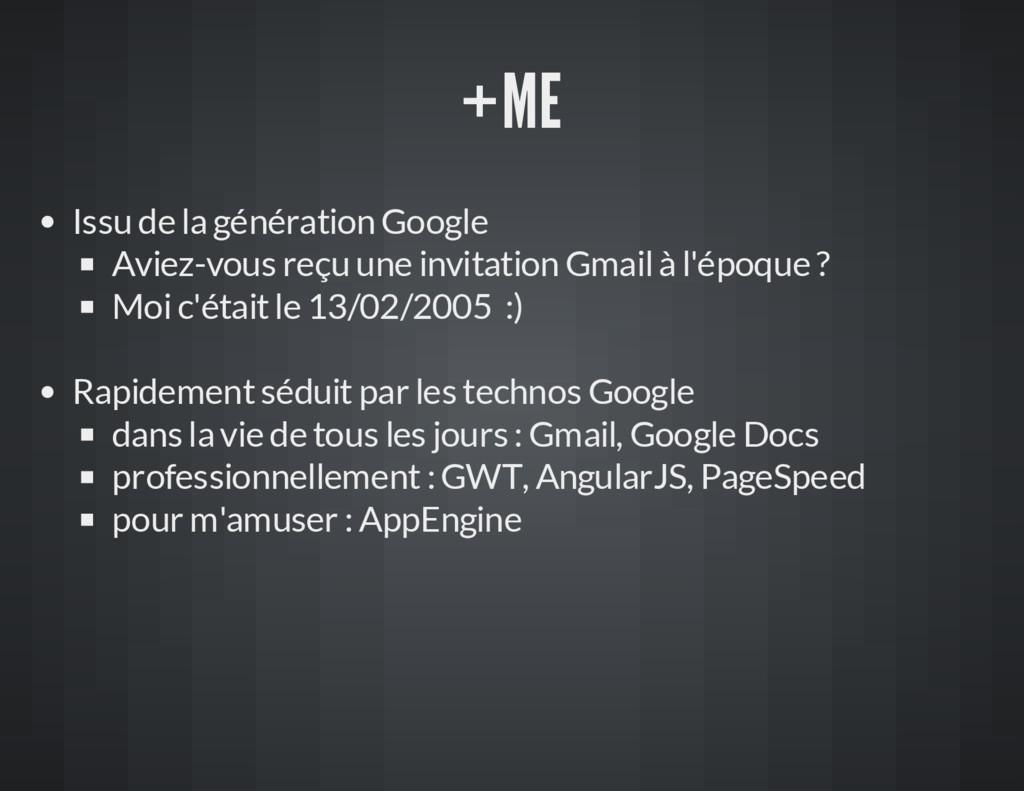 +ME Issu de la génération Google Aviez-vous reç...