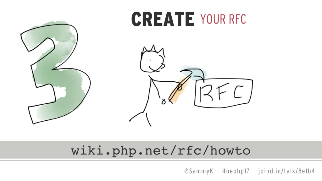 @SammyK #nephp17 joind.in/talk/8e1b4 YOUR RFC C...