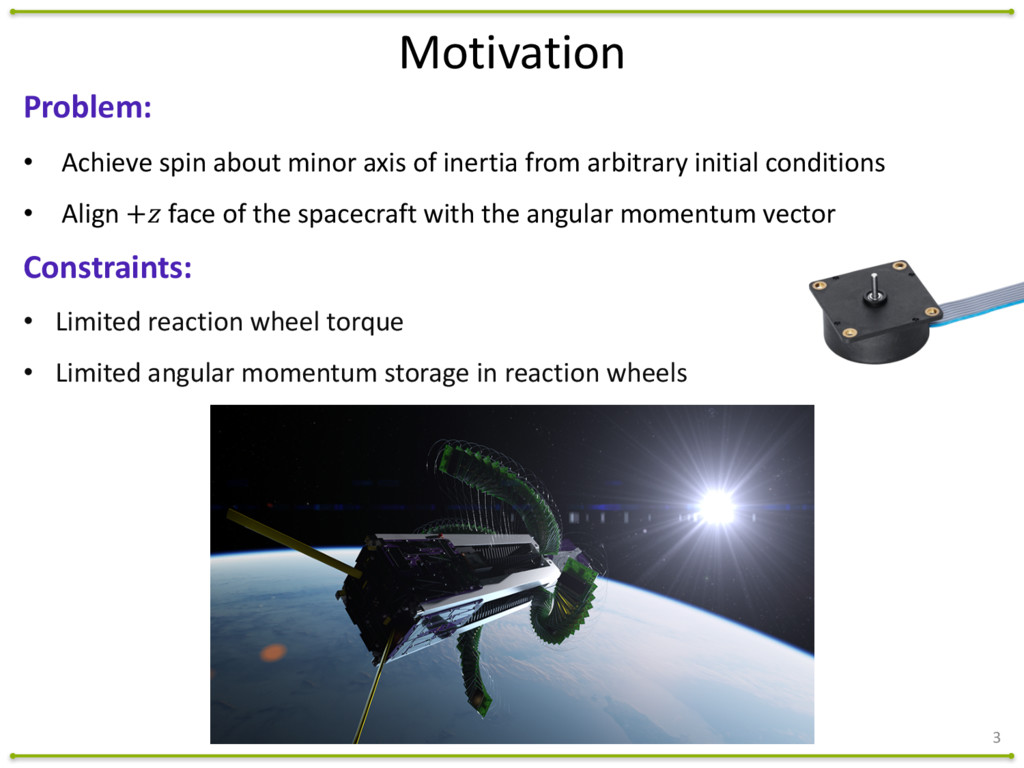 3 Problem: • Achieve	