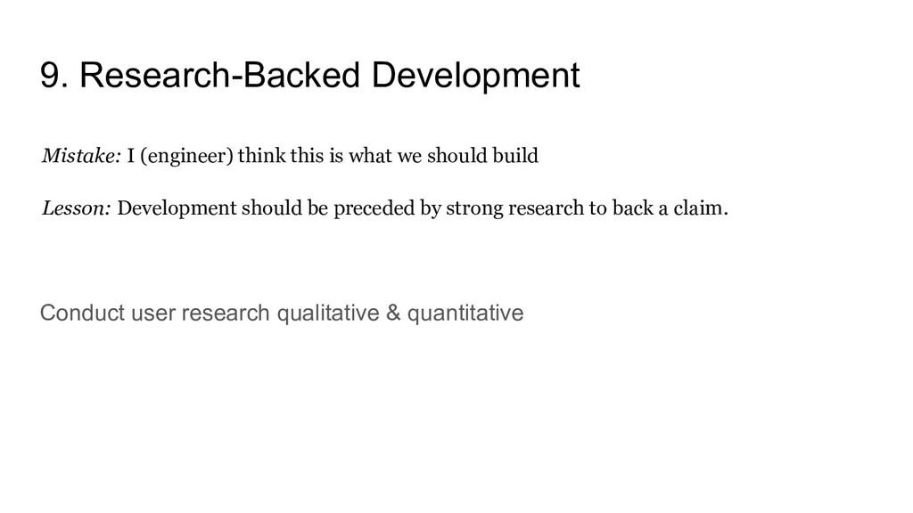 9. Research-Backed Development Mistake: I (engi...