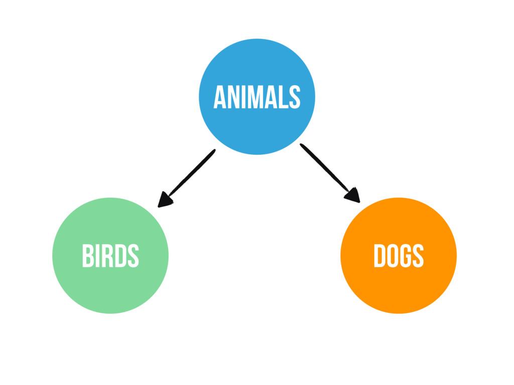 ANIMALS BIRDS DOGS