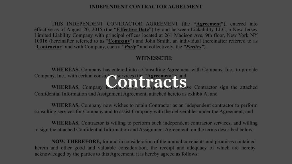 INDEPENDENT CONTRACTOR AGREEMENT THIS INDEPENDE...