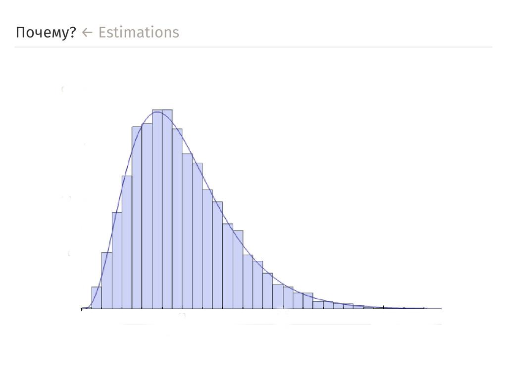 Почему? ← Estimations