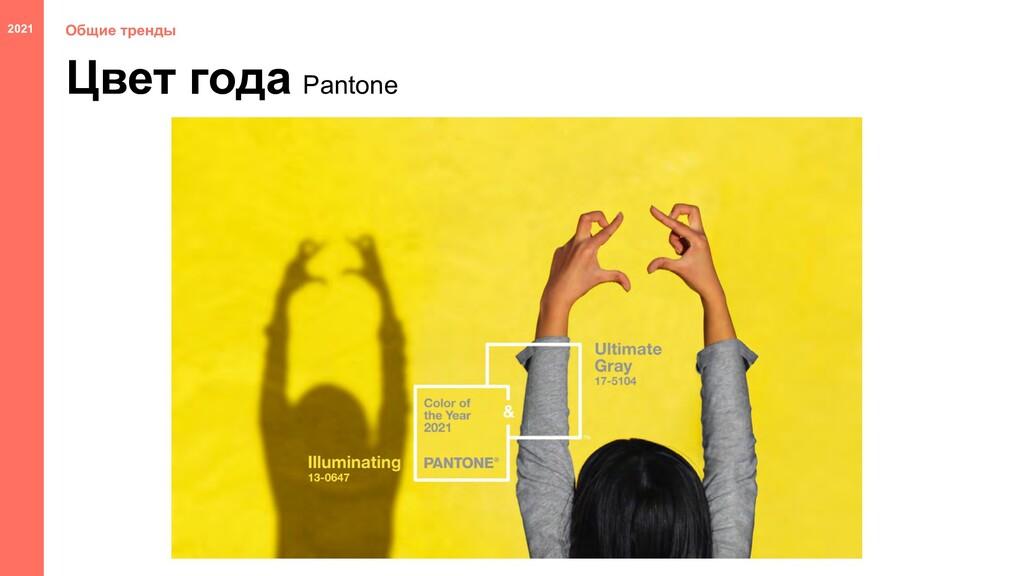 Цвет года Общие тренды Pantone 2021