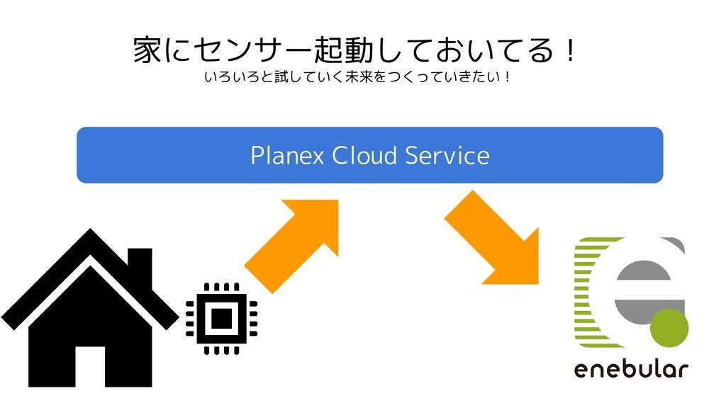 家にセンサー起動しておいてる! いろいろと試していく未来をつくっていきたい! Planex C...