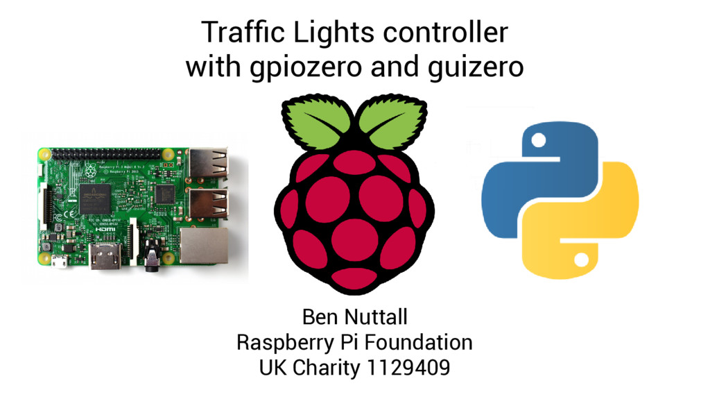 Traffic Lights controller with gpiozero and gui...