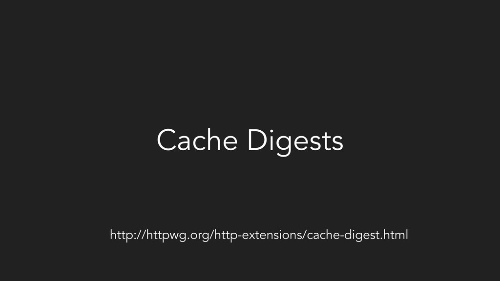 Cache Digests http://httpwg.org/http-extensions...