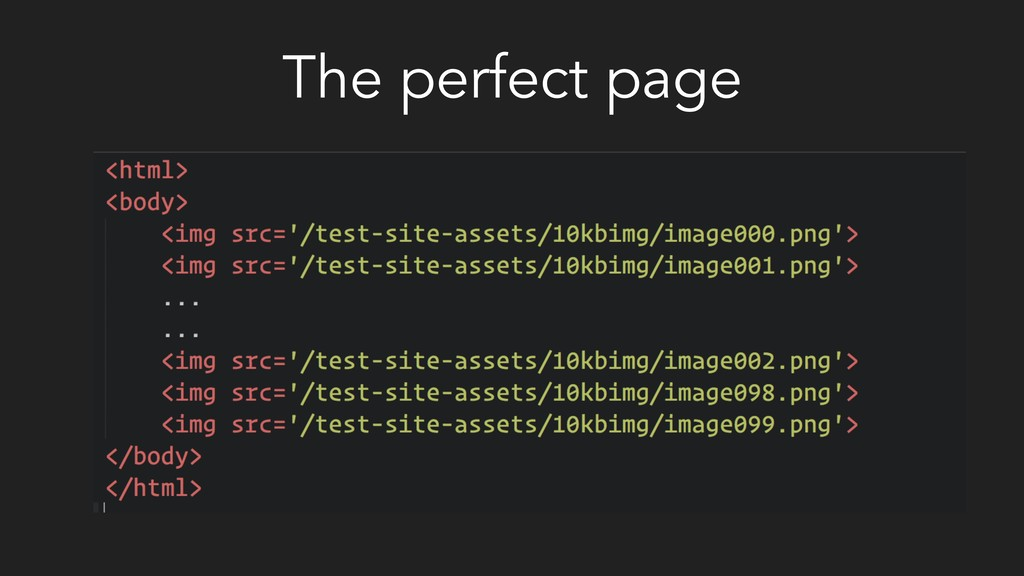The perfect page