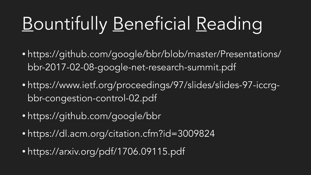 Bountifully Beneficial Reading • https://github...