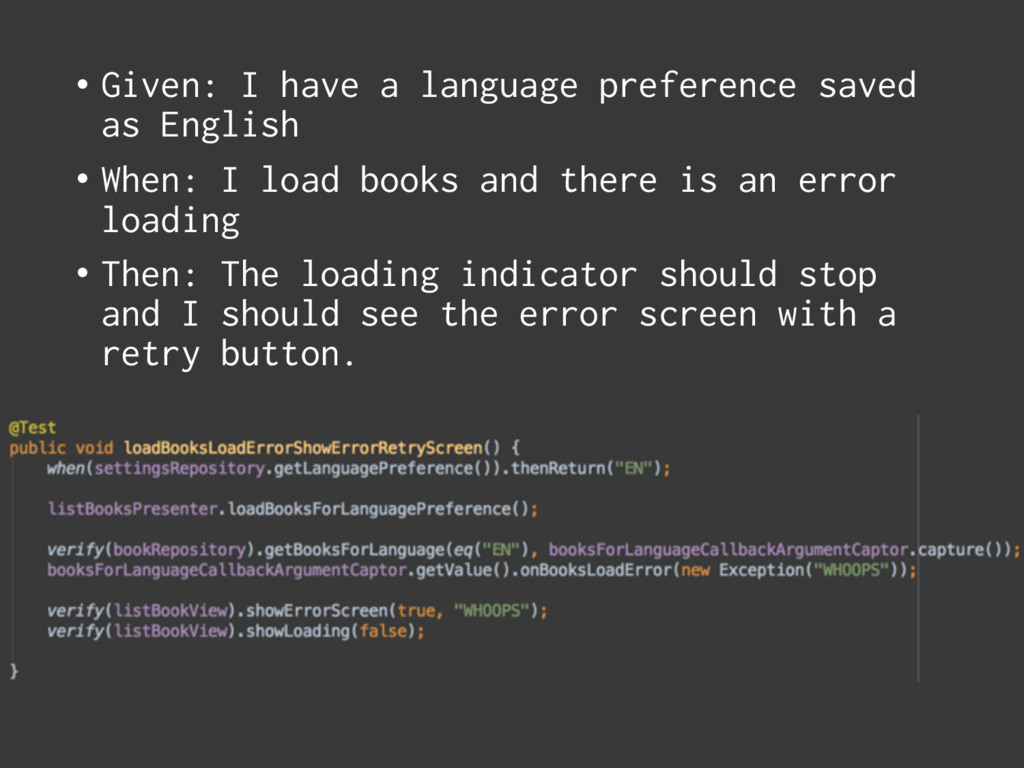 • Given: I have a language preference saved as ...