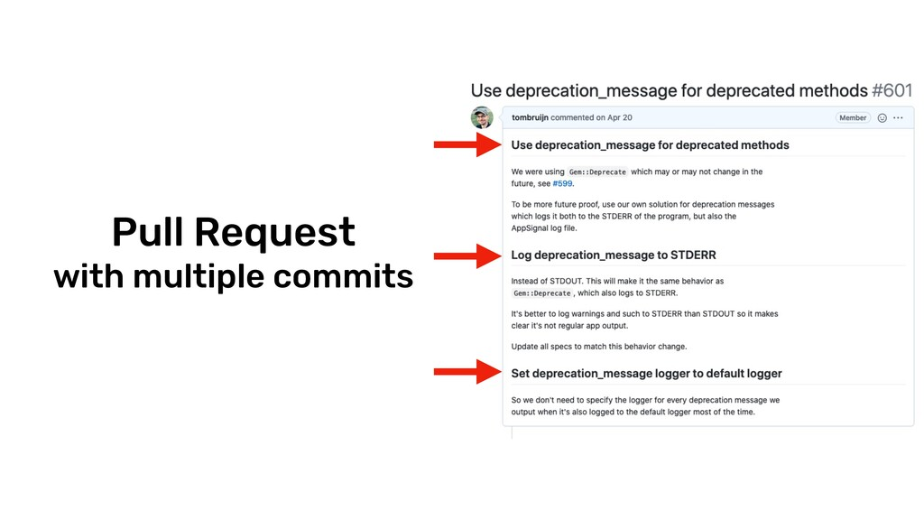 @tombruijn Pull Request with multiple commits