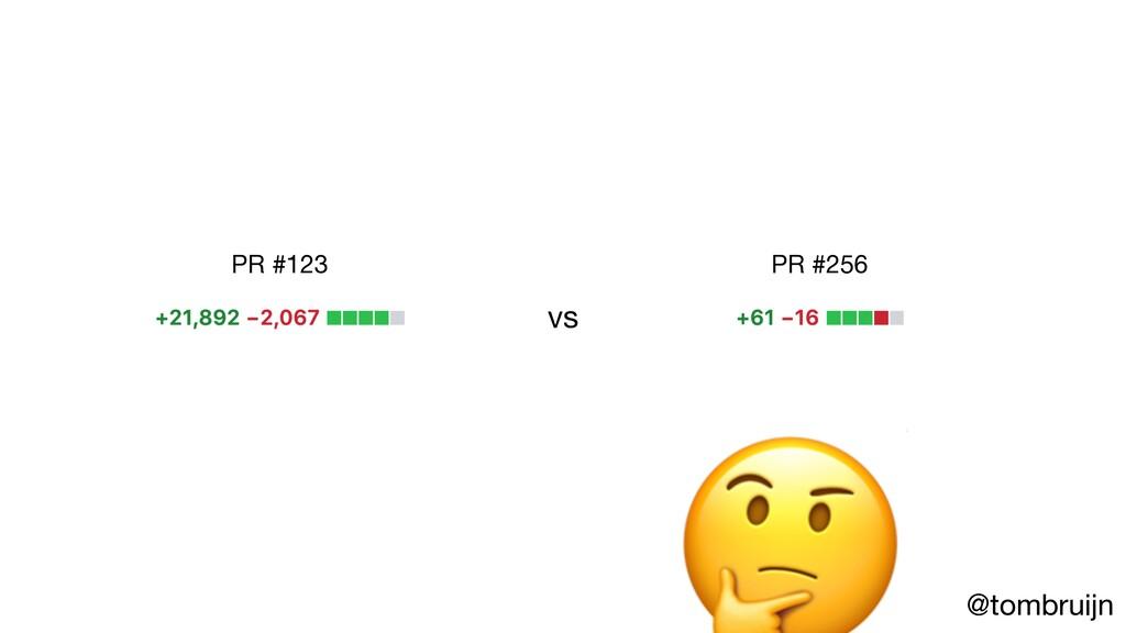 @tombruijn vs PR #123 PR #256