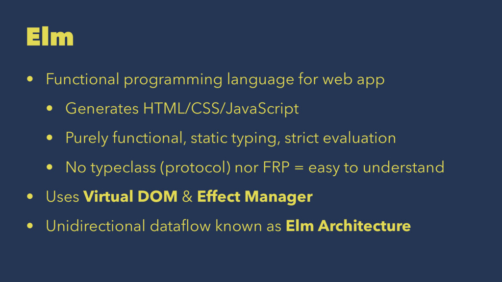Elm • Functional programming language for web a...