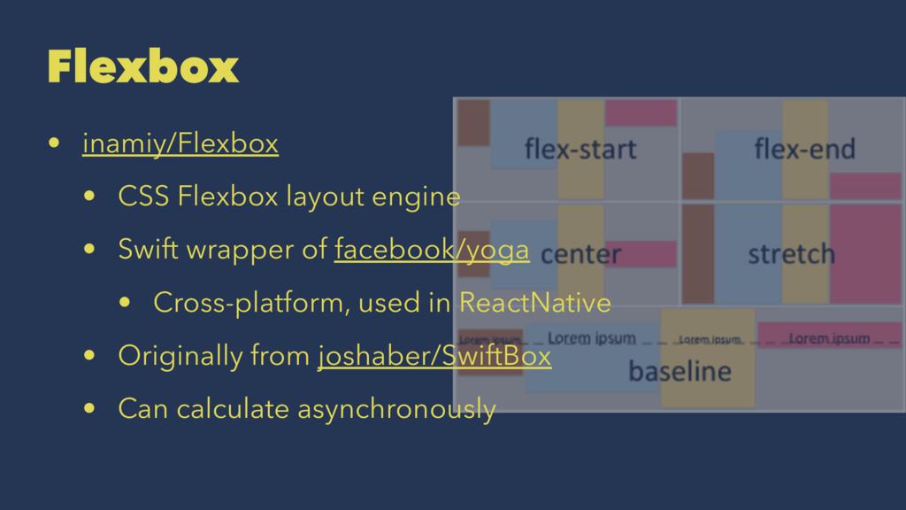 Flexbox • inamiy/Flexbox • CSS Flexbox layout e...