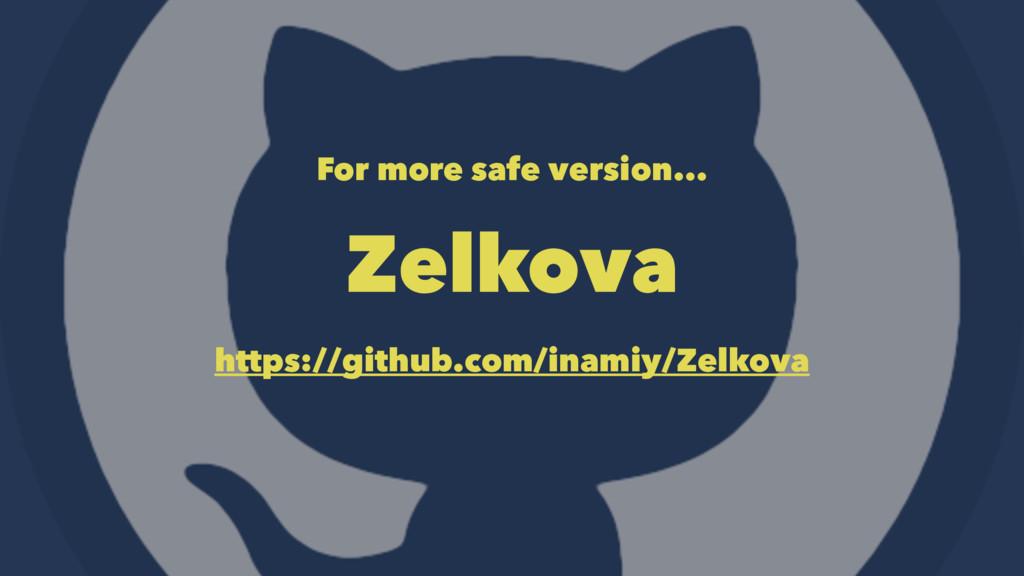 For more safe version... Zelkova https://github...