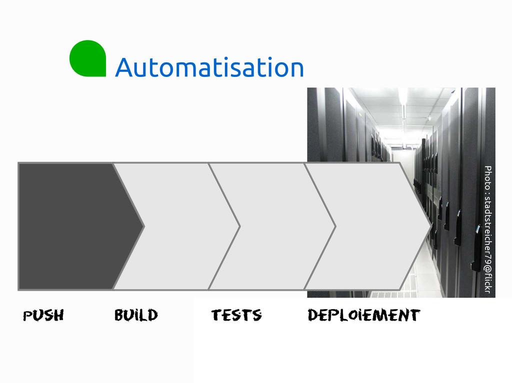 Automatisation Push Build Tests DeploiemeNt Pho...
