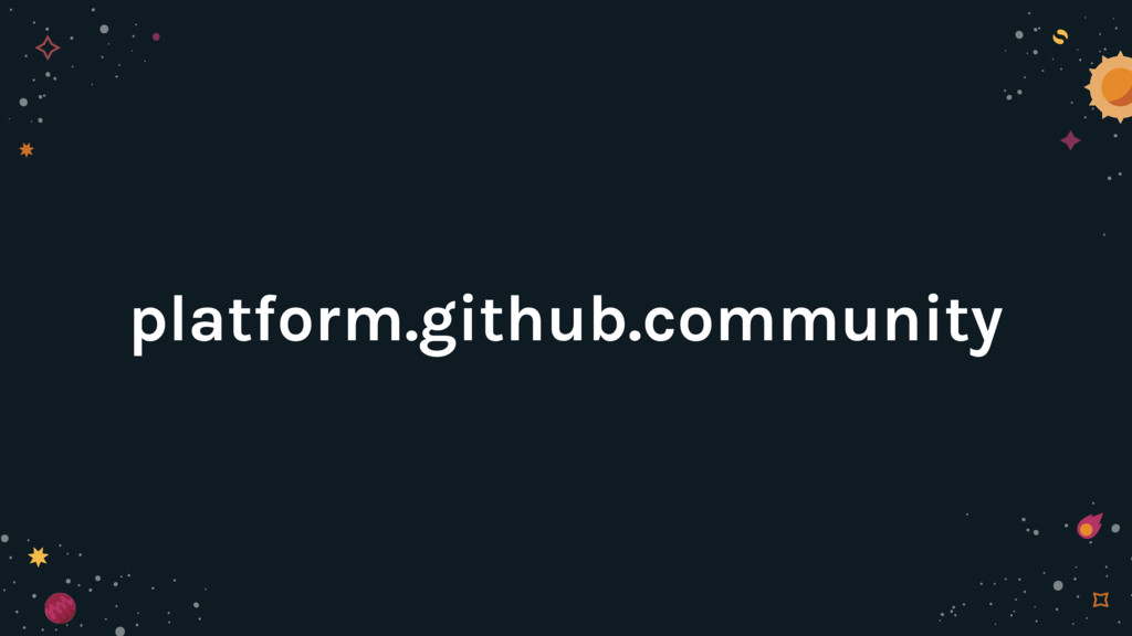 platform.github.community