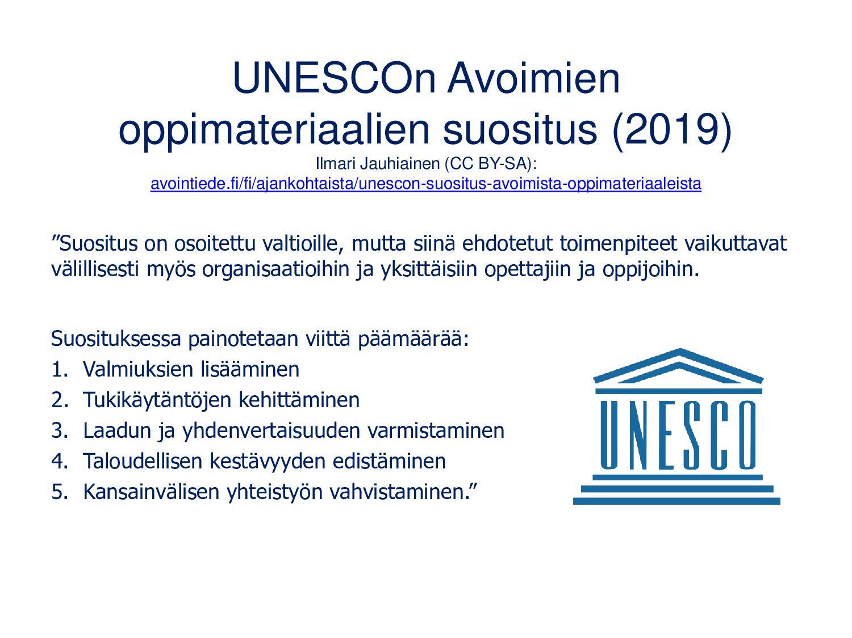 Avointen oppimateriaalien kirjasto: aoe.fi • Ta...